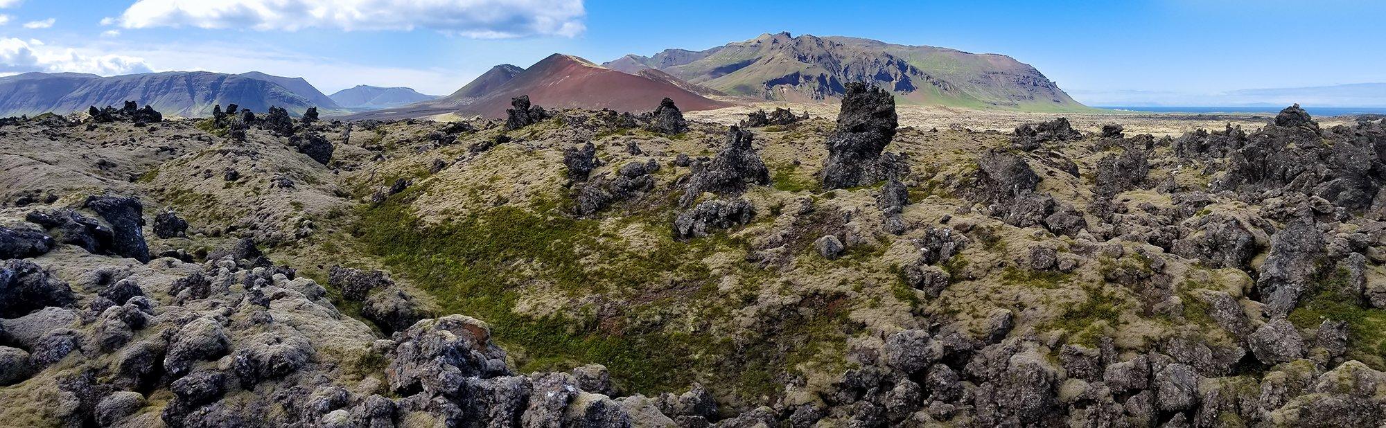 Lava flow on the Snaefellsnes Peninsula