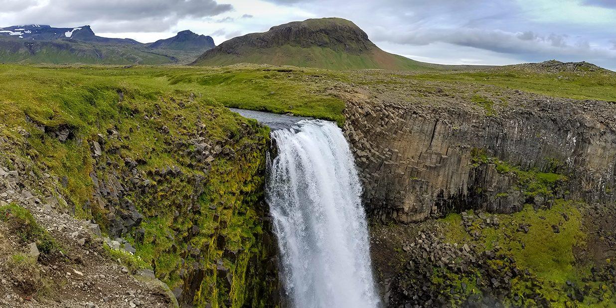 Svudofoss Waterfall