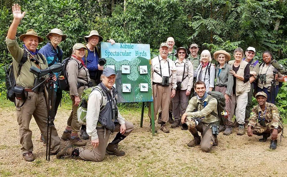 Uganda Birding Nature Tour Group, 2019