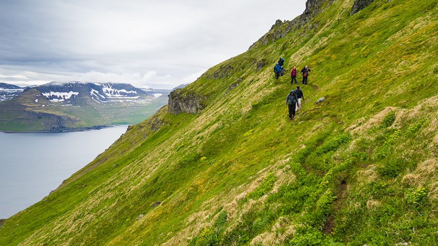 Nature travel in Iceland
